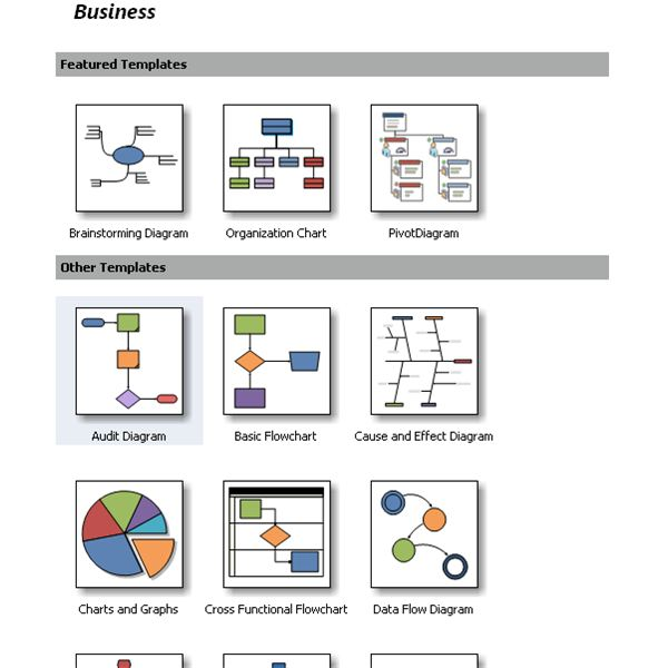 Visio Site Map Examples: Advantages Of Microsoft Visio