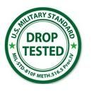 Mil drop-tested approval