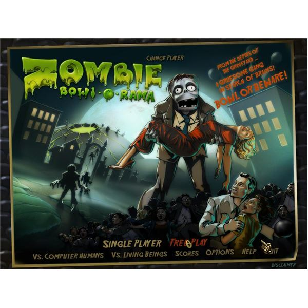 Bowling Games Fans Unite!  Zombie Bowl-A-Rama Offers Up Some Scary Free Bowling Games Fun From Big Fish Games