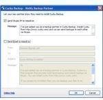Notify Skype Partner