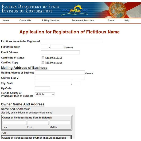 The Steps Required in Applying for a Business Name