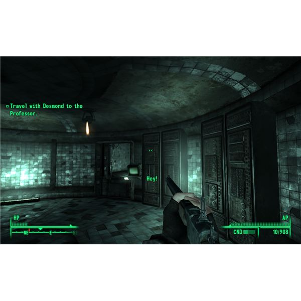 Fallout 3: Point Lookout - Professor Calvert Doesn't Have Much for Base Defenses