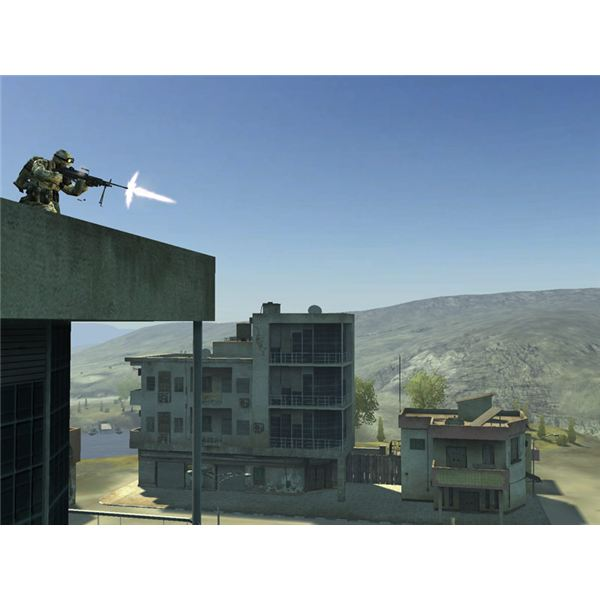The US Marine Corp in Battlefield 2