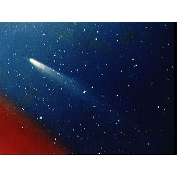 Photograph of Comet Kohoutek from 1974