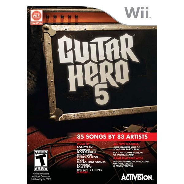 guitarhero5cover