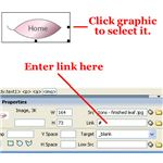 How To Map and Link Your Images in Dreamweaver-linking image