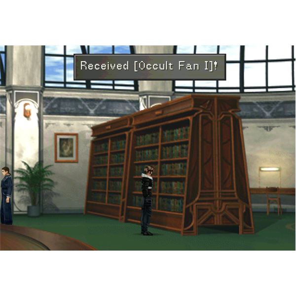 FF8 - Occult Fan 1 in Library