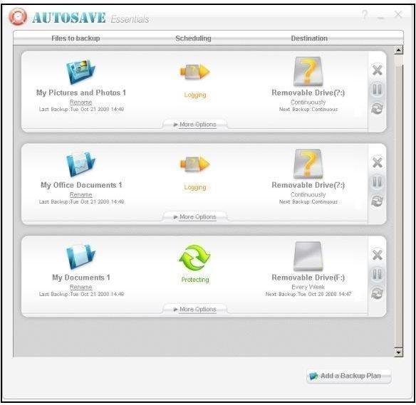 Autosave Essentials in XGA