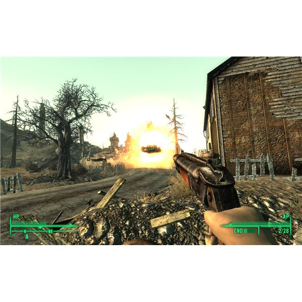 Fallout 3 Broken Steel - Get Nuclear Anomaly If You Want to Do This Without A Car