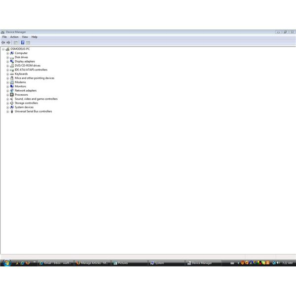 The Device Manager Interface