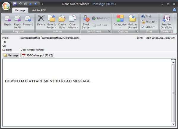 Email File Attachments
