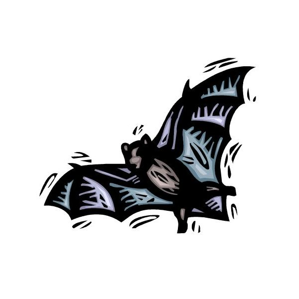 Halloween Bat Templates for Invitations, Party Flyers, Decorations ...