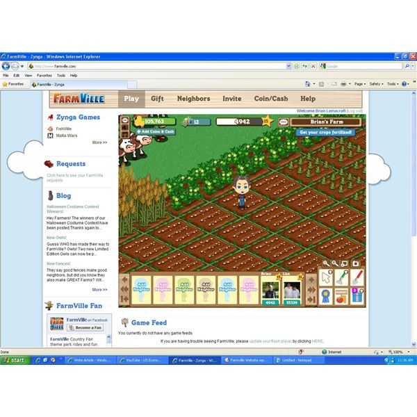 Zynga Launches Farmville Website as Game Grows