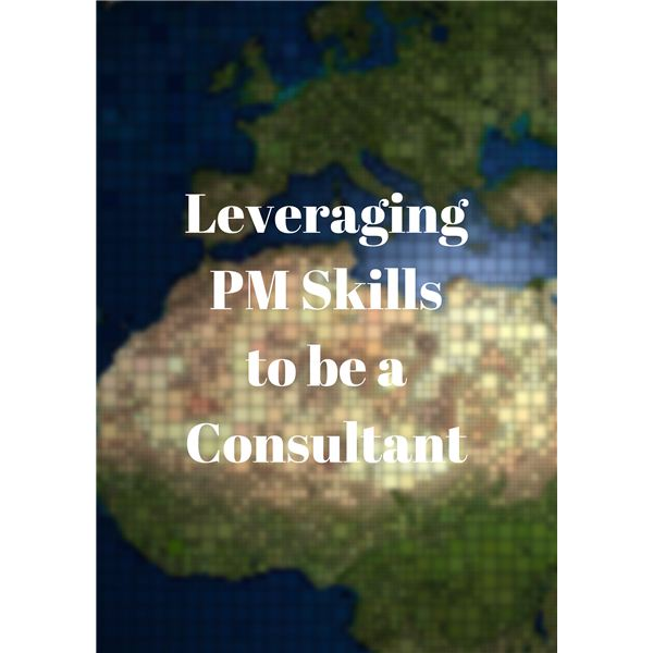 Leveraging PM Skills to Be a Consultant