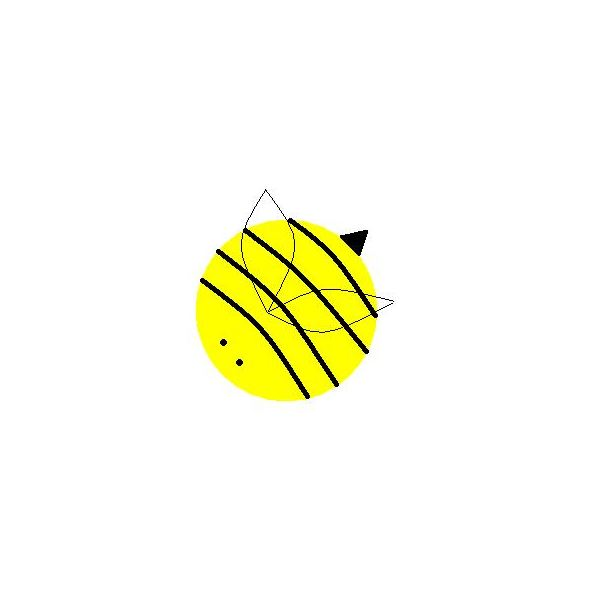Paper Bowl Bumble Bee