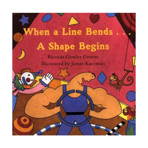 When a Line Bends a Shape Begins