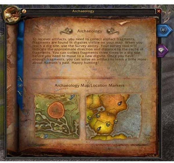 World of Warcraft Archaeology Rewards: Eastern Kingdoms