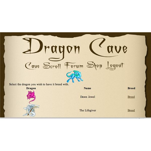 Dragcave Breeding