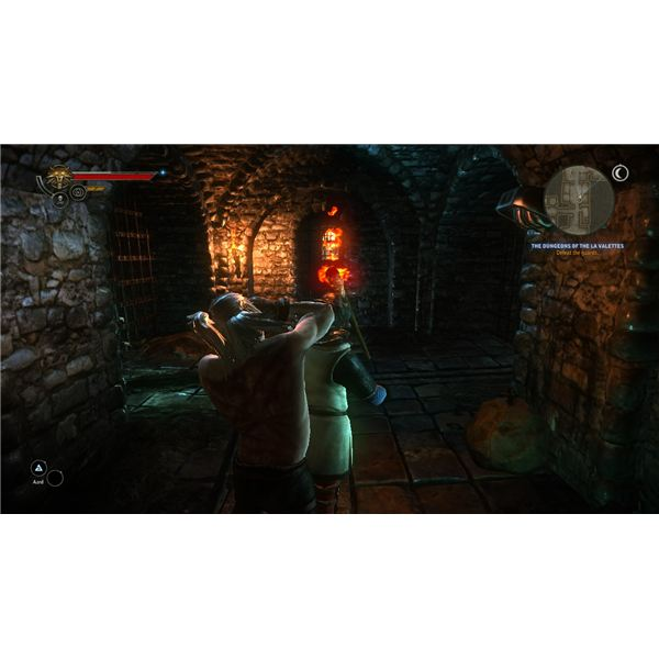Escaping the Dungeon - Knocking Out Guards