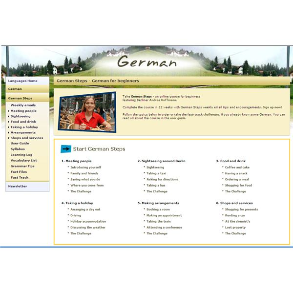 German Steps - Homepage