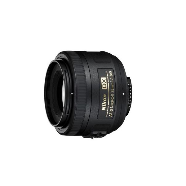 AF-S DX NIKKOR 35mm f/1.8G Camera Lens for Low Light Photography