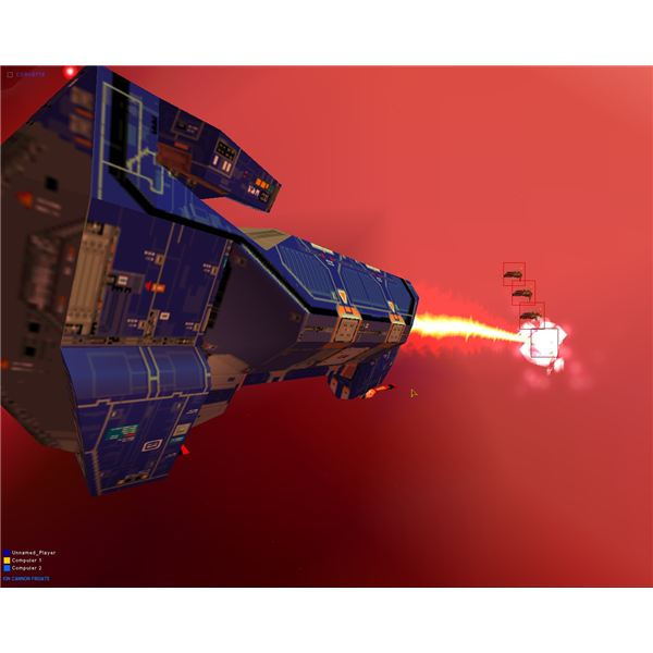 Homeworld Game Ion Frigate