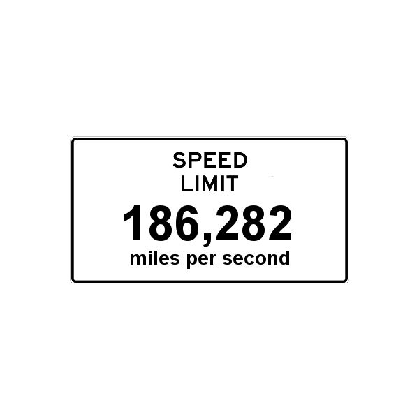 Speed Limit Miles Per Second