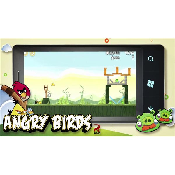 Angry Birds - a Must-Have Game for Windows Phone?