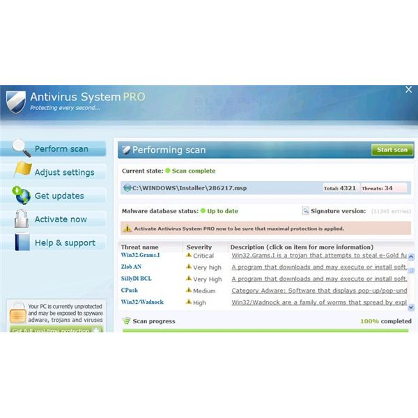 Not Protecting Every Second - Removing Antivirus Systems Pro