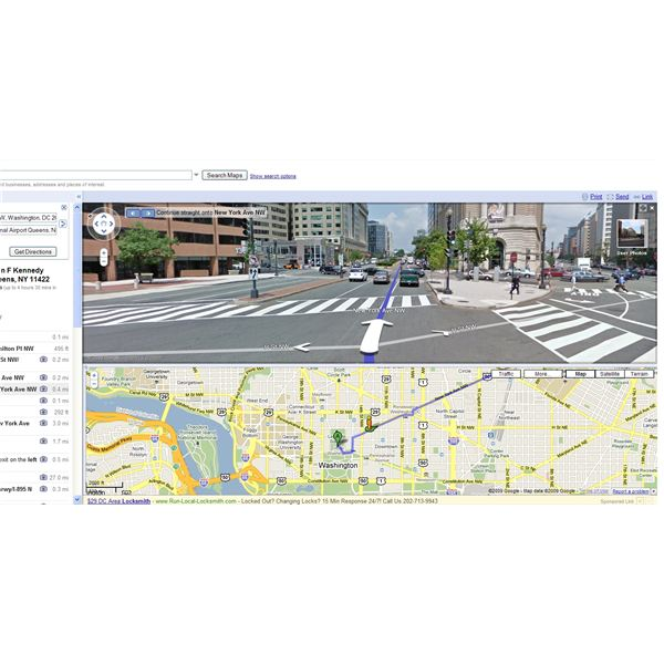 How to Get Driving Directions with Google Maps Driving Directions Google Maps Street View on