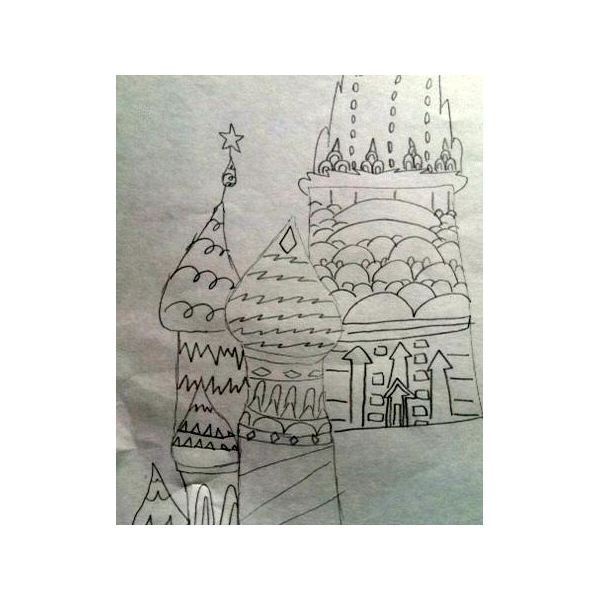 3rd Grade Art Lesson on Russian Architecture: Inspired by the 2014 Sochi Olympics