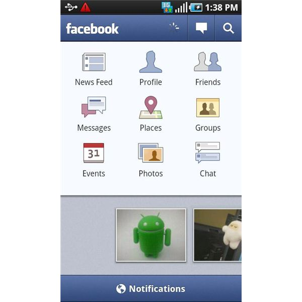 Top Android Applications - Facebook for Android