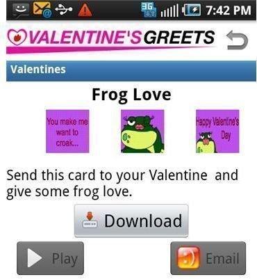 Valentine Video Greets