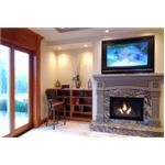 Plasma TV Above Fire Place (source: www.screen-wipes.co.uk)