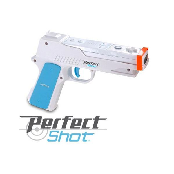 Perfect Shot for Nintendo Wii - Remote Gun Accessory Review - Wii Pistol