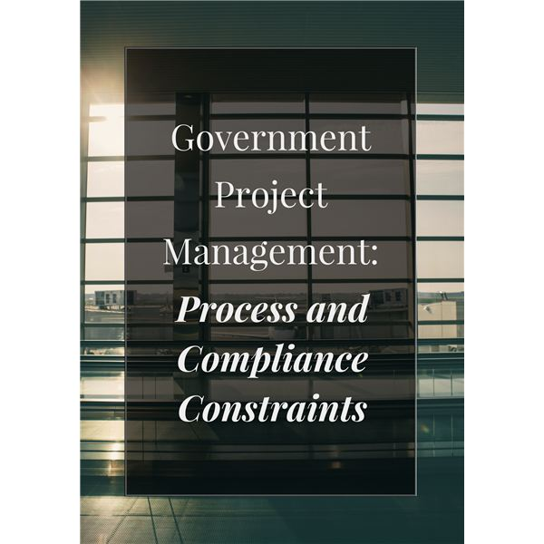 Government PM Process and Compliance Constraints