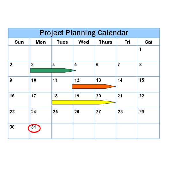 Project Schedule Examples Different Ways To Represent A Project - It project timeline template