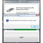 Kaspersky rescue disk on USB