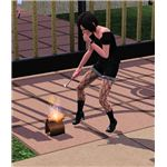 The Sims 3 prank fire poop