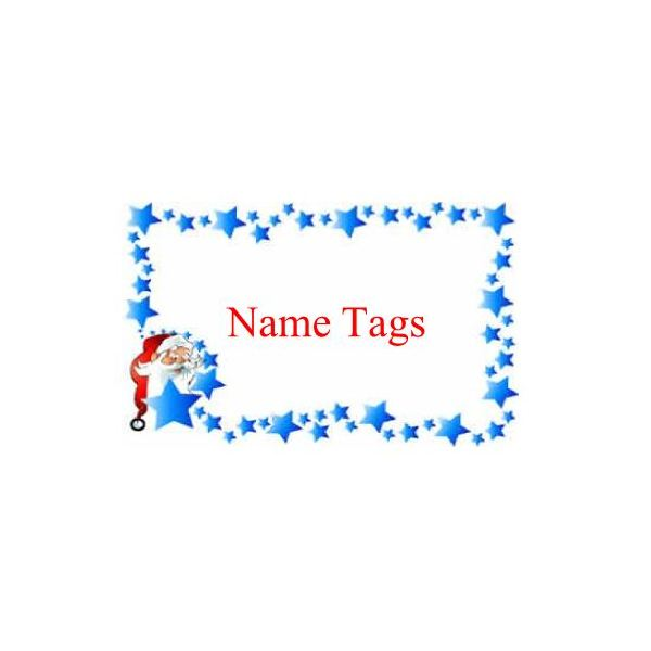 Christmas Name Tags How To Design And