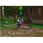 The Sims 3 hidden springs green Sim