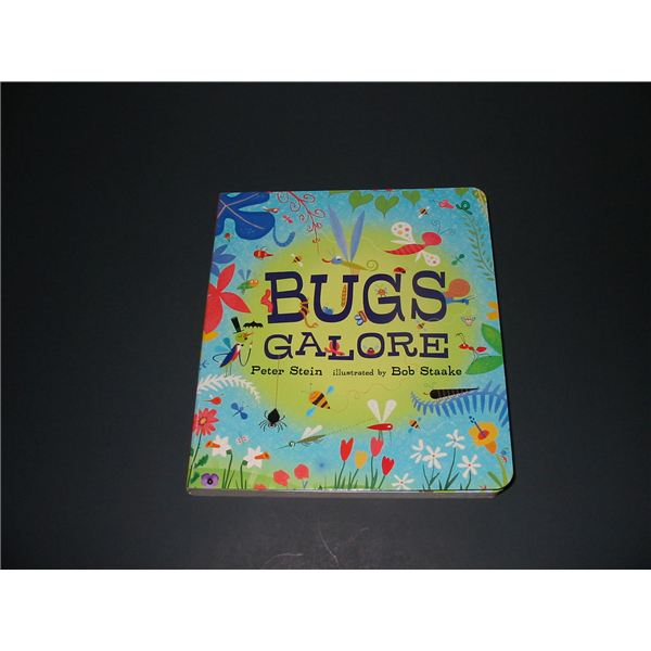 """Bug Preschool Lesson Plan Based on """"Bugs Galore"""" by Peter Stein"""