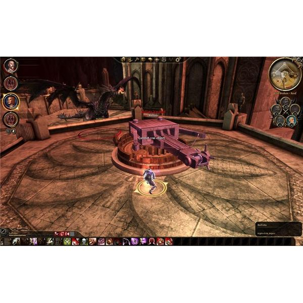 Dragon Age Guide - Rogues can fix a jammed ballista