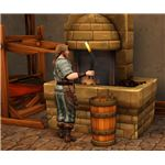 The Sims Medieval forging 2