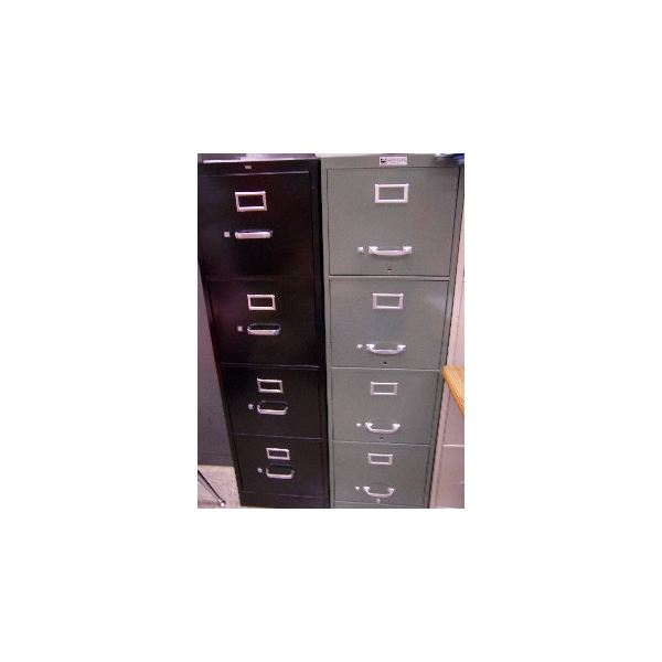 """Metal file cabinets"
