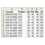 Figure 266 - Excel Table