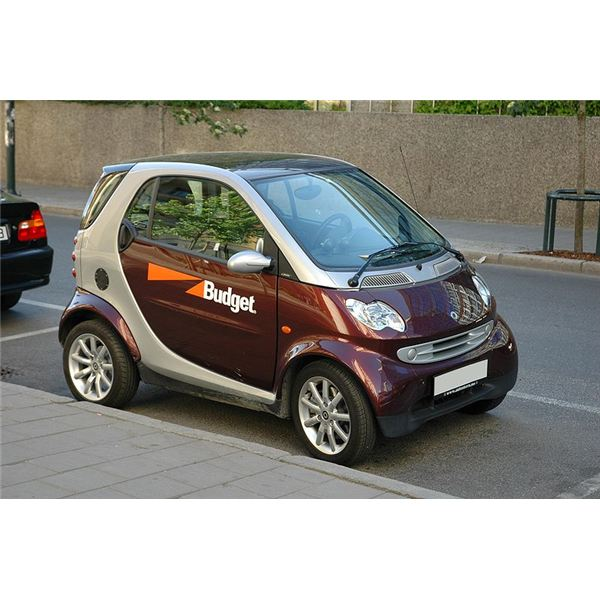 Smart fortwo from Budget Wikimedia Commons