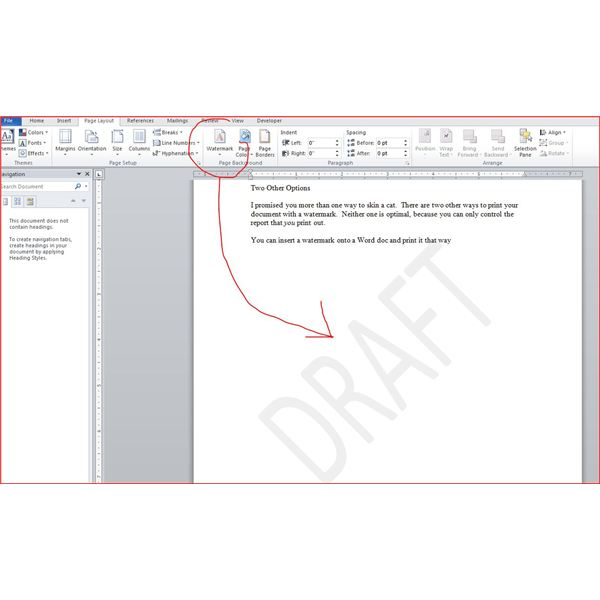 Add Watermark Microsoft Project Schedule Tips Amp Tricks