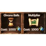 Chrono and Multiplier Powers