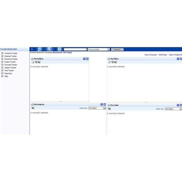 Review of TrackerSuite.Net: Integrated Web-Based Project Management Software